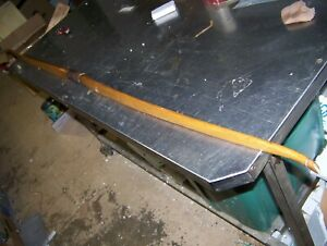 """Vintage Antique Wood Long Bow Handcrafted Collectible 1926 old archery 68 1/2"""""""