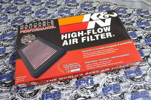K&N Drop In Performance Air Filter For 99-01 Porsche 911 Carrera and Turbo 996TT