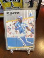 1989  BO JACKSON FLEER CARD #285 ROYALS  BASEBALL