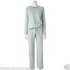 2 Piece Sonoma Brand Microfleece Pajamas Sleepwear Set ~ Size XXL (20) ~ NWT $40