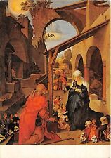 B46750 nativity painting postcard albrecht durer