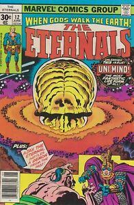The Eternals #12. Jun 1977. Marvel. VG/FN.