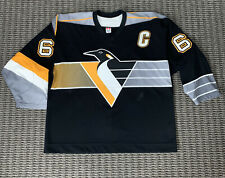 Mario Lemieux Pittsburgh Penguins 2001-2002 Game Issued Jersey