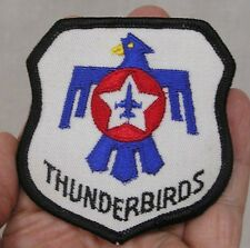 Vintage Military Patch Thunderbirds Blue Eagle