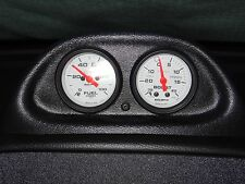 94-97 Mustang GT, Cobra or V6 Autometer Dash Clock Dual Gauge Pod Auto Meter