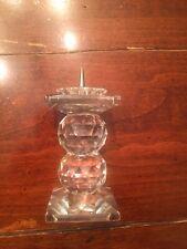 Swarovski Crystal Candle Holder 7600 Nr 110 Pin Style