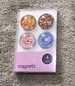 Pack Of 4 Fridge Magnets