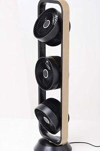 GOLDAIR Triple TOWER FAN Cooler Three Tri Designer Wood Finish Remote Portable