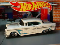 '55 CHEVY BEL AIR ✿ white; blue☆Multi Pack Exclusive?☆2020 Hot Wheels LOOSE