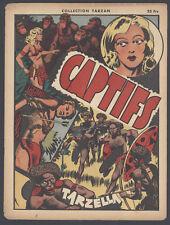Collection Tarzan #20 Captiffs Vintage Cool French Language Comic Newspaper 1946