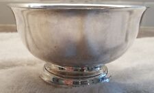 Alvin Sterling Silver S260 Revere Reproduction Nut Candy Bonbon Bowl