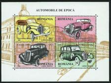 ROMANIA - 1996 'VINTAGE MOTOR CARS' Miniature Sheet MNH SG5853 [A5447]