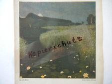 ORIGINAL Blatt aus Zeitschrift JUGEND 1905 Pietzsch - Max Bernuth B466