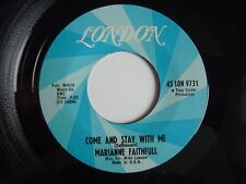 "Marianne Faithfull Come And Stay With Me US Import London 1965 7"" Vinyl Single"
