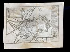 COUNT OF FLANDERS FORT PLAN 1600s