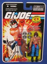 "GI Joe Kangor 4"" Action Figure 2018 Club Exclusive FSS Service MOC Cobra Big Boa"