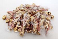 Set / Lot of 50 Brass Boatswain Whistle key Chain Bosun Call Pipe Nautical