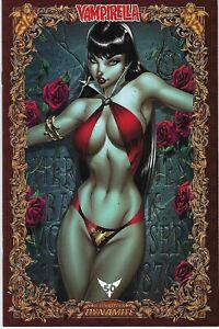 Vampirella # 1 J. Scott Campbell 1 in 75 Icon 50th Anniversary Variant Cover !!!