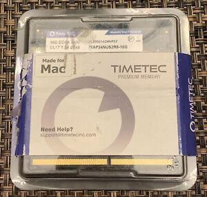 Timetec 32 GB (2 x 16 GB) DDR4 2400 Memory RAM Made For Mac