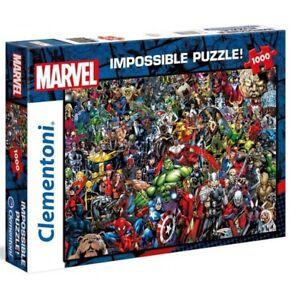 Clementoni Marvel Impossible Puzzle 1000 Pieces