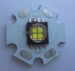 Cree MC-E 10W 6000K Cool White Light 1000LM LED Emitter Chip 20mm PCB