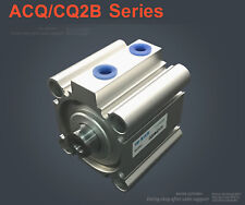 NEW Pneumatic CQ2B25-50D Double Acting Compact Air Cylinder SMC Type