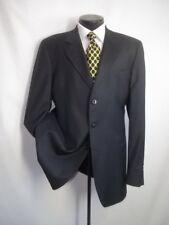 Blk Label Emporio Armani Linea Napoli Dark Gray 3 Buttons Wool Jacket Coat 44 L
