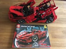 Lego Technic Engineering 8653 Enzo Ferrari Incl Building Instruction