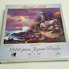 NEW Puzzle Heaven's Light by James Lee 1500 Pc. Lighthouse Jigsaw Sealed NIB USA