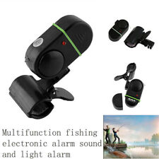 Electronic Fishing Alarm Sound Light Fish Bite Alarms For Outdoor Waterproof