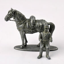 ATLAS Collection 2595003 Diecast WWI France Solider with Horse Model Toys Hobby