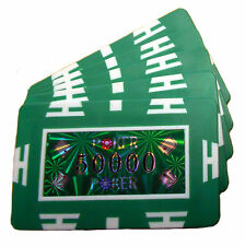 Poker Chip Plaques - 50000 Value