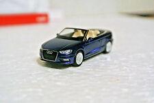 Herpa 38300 HO /87 Audi A3 Cabrio Dark Blue Metallic  C-9 NIB