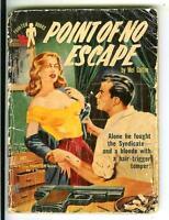 POINT OF NO ESCAPE, rare Aust. Phantom #676 crime gga digest pulp vintage pb