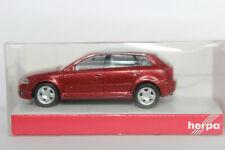 Audi A3 8PA rotmetallic IE grau Herpa  1:87