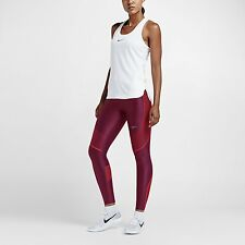 Women's Nike Power Speed Running Tights Noble Red Size SMALL 719784 620 NWT