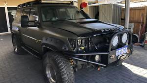 Bonnet Scoop 79 Series Style to suit 75,80,100,200series,150 Prado,GQ,GU,Patrols