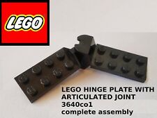 Lego Town Space Construction_3640c01 Hinge Plate Articulated Joint_Complete Part