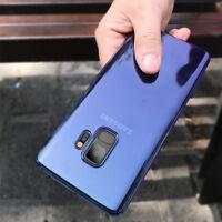 Samsung Galaxy S9 Gradient Hülle Transparent Farbwechsel Case Schutz Cover