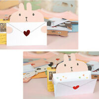 Embrace of Love Mini Animal Card With Envelope Message-birthday Greeting Card