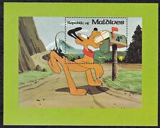 Maldives - 826-835 - Disney Postal Scenes -  9 & Souvenir Sheet  - 1979 - B9483