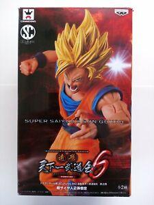 Banpresto Dragon Ball Z Figure SCultures Craneking Big 6 Volume 4 SS2 Goku Gokou