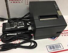 Epson TM-T88IVKitchen Order POS Receipt Slip Printer Dark Gray USB Interface