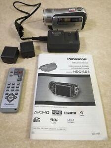 Panasonic HDC-SD5 Full HD 1920*1080 3CCD Videocamera Digitale.