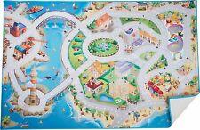 Spielteppich Insel ca. 150 x 100 x 0,5 cm Spielmatte
