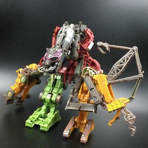 Transformers Decepticons Legends Devastator No Box Movie Autobots Action Figure