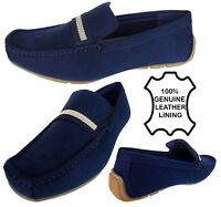 Mens Leathed Lined Slip On Shoes Casual Mocassin Designer Loafer Driving Shoe