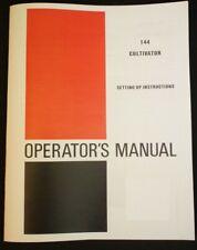 Farmall 140 Cultivator Side Dresser Manual Ih International 144 Super A 100 130