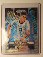 Paulo Dybala  #10 - BLACK & GOLD - Argentina - Panini Prizm - 2018 WORLD CUP