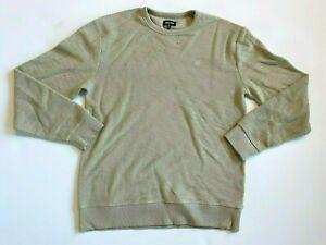 Brixton Sweater Men's Medium Crew Neck Pullover Beige